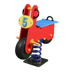 Rocker Scooter Spring Rider Rocking Horses Toddler Child Kid Playground Set