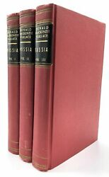 Sir Donald Mackenzie Wallace Russia its History and Condition to 1877 amp; Russia $58.00
