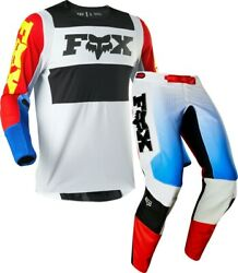 Fox 360 LINC Blue Red Motocross MX Race Offroad Kit Gear Adults GBP 159.95