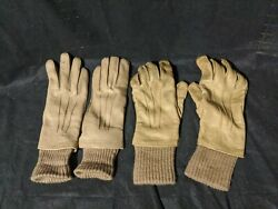 Vintage Leather Gloves women#x27;s Made in Philippines Tan Color Smooth 1 new 1 Used $24.95