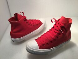Converse Unisex All Star Ankle Shoes Men's US 8M Wom's US 10M Canvas Red $30.97