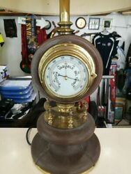 Gucci clock and barometer desk lamp $1,700.00