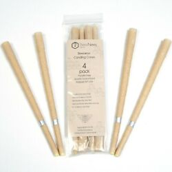 BeezNeez Wax Co. – Hollow Beeswax Candle Cones – 4 pack– Do not use for ear $7.49