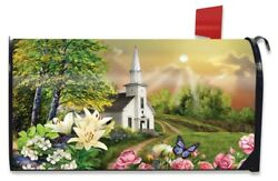 Spring Church Mailbox Covers Briarwood Lane $16.71