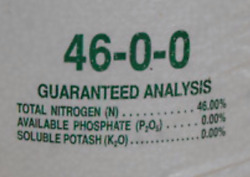 Nitrogen 46 0 0 Urea Fertilizer great for lawns gardens deer food plots $16.95