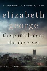 Punishment She Deserves Hardcover by George Elizabeth Acceptable Condition...