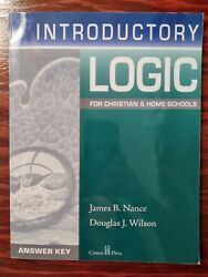 Introductory Logic for Christian amp; Home Schools $9.95