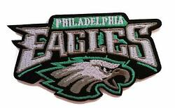 Philadelphia Eagles Super Bowl NFL Football Embroidered Iron on Patch 4.5 $4.87