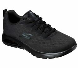 Skechers Extra Wide Fit Black Shoes Men Go Walk Slip On Air Sport Comfort 54491 $49.99