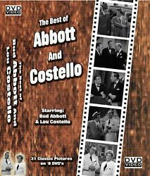 The Abbott and Costello Movies 31 Classic Movies $14.99