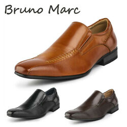BRUNO MARC Mens Slip On Casual Loafers Business Dress Shoes Classic Square Toe  $25.49