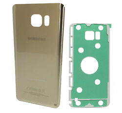 Replacement Glass Back Cover w Adhesive for Samsung Galaxy Note 5 N920 Gold $7.49