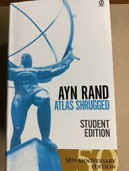 Atlas Shrugged Ayn Rand (1996 Paperback Revised) NEW 50th Anniversary Edition