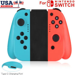 For Nintendo Switch (L/R) Wireless Bluetooth Controllers - Blue/Red US FREE $34.99