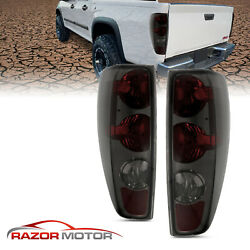 04 12 For Chevy Colorado GMC Canyon Red Smoke Rear Brake Tail Lights Lamps Pair $77.95