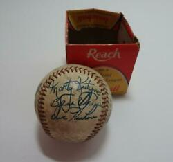 Vin Reach Official American League BaseBall Marty Kutyma Claude Osteen More name $45.00
