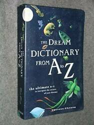 THE DREAM DICTIONARY FROM A TO Z Paperback By Cheung Theresa GOOD $4.09