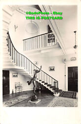 R342498 Acrise Place. Kent. Staircase from ground floor. Country Life. B. Matthe GBP 7.99