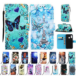 For Samsung Galaxy A10e A20e Card Wallet Flip Leather Phone Stand Case Cover $9.43