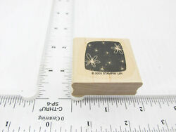 Lightening Bugs Fireflies In The Night Sky Rubber Stamp Stamp Set D331 $4.99