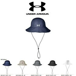 Under Armour Mens Warrior Bucket Hat Brand New with Tags Golf Cap $29.99