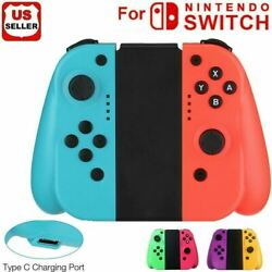 For Nintendo Switch /Switch Lite (L/R) Wireless Bluetooth Controllers - Blue/Red $35.98