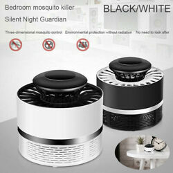 USB Electric Mosquito Insect Killer Trap Lamp LED Light Bug Zapper Pest Control $8.73