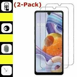 2 Pack Premium Real 9H Tempered Glass Screen Protector For LG Stylo 6 $3.95