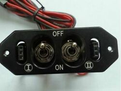 ALUMINUM HEAVY DUTY DUAL POWER SWITCH for RC Planes $27.99