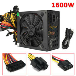 1600W 6 GPU Graphics Card Open Air Mining Power Supply For Eth Rig Ethereum US $72.99
