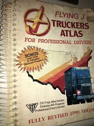 Vintage 1990 Flying J Truckers Atlas for Professional Drivers. Good Condition. $4.99