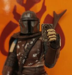 Star Wars The Mandalorian quot;Black Seriesquot; Figure Beskar Real Metal 4 Pc Set $15.00