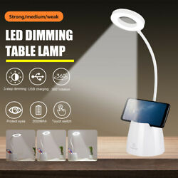 LED Desk Light Bedside Reading Lamp Dimmable Rechargeable Table Touch Control US $13.99