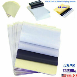 25 Pcs Tattoo Transfer Paper Carbon Thermal Stencil Tracing Hectograph US New $9.55