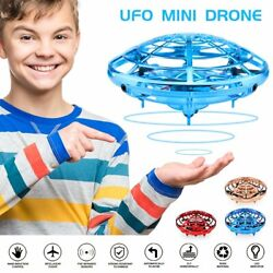 Mini Drone Infrared Sensor UFO Flying Toy Induction Aircraft Quadcopter for Kids $20.79