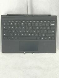 Microsoft 1725 Type Cover Black for Surface Pro 3 4 Backlit Keyboard $37.99
