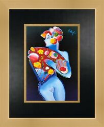 Peter Max Better World Newly Custom Framed Print FREE SHIPPING $65.00