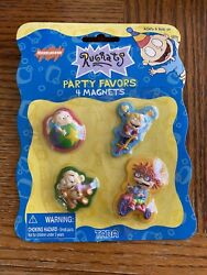 Rugrats Nickelodeon Party Favors 4 Magnets NEW $15.00