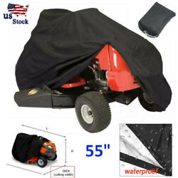 Lawn Mower Tractor Cover UV Resistant Waterproof Garden Outside Riding USA $17.55