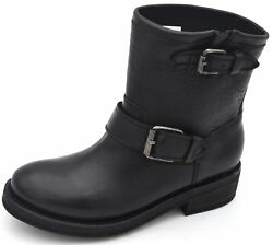 ASH WOMAN BIKERS ANKLE BOOTS BOOTIES WINTER CASUAL CODE TEARS SS18 MB YG0230 001 $242.21