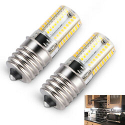 2x E17 LED Bulb Microwave Oven Light Dimmable Natural White 6000K Light Quality $8.34