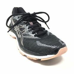 Women's Asics Gel-Nimbus 20 Running Shoes Sneakers Size 9 Black Pink Athletic T9 $29.97