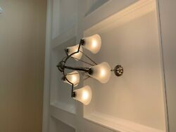 light fixtures ceiling chandeliers White Original box is missing. $49.00