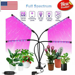 LED Grow Lights Indoor Plants Hydroponics Full Spectrum Plant Growing Lamp Light $27.99