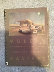 1940 MODERN MASTERS European and American Collections MUSEUM OF MODERN ART BOOK $5.00