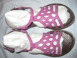 REPORT WOMENS  FLAT SANDALS SAMPLE SHOES SIZE 6 (G149)  $4.99