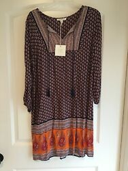 Womens Beach Lunch Lounge Multicolored Dress $20.00