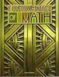 Fundamentals of Math Student Text - Paperback - GOOD $45.73