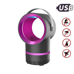Mosquito Killer Lamp USB Rechargeable Powered Anti Mosquito Insect Home Indoor $14.77