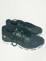 Asics Gel Nimbus 20 Women's running shoe black sneaker T850N $26.99